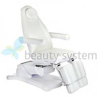 Электрическое косметическое кресло Mazaro BR-6672A белое