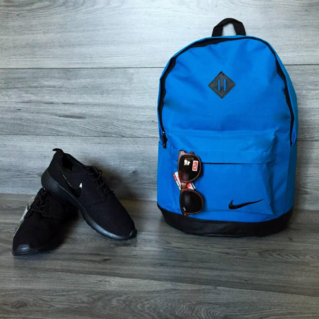 Школьный рюкзак Nike, голубой