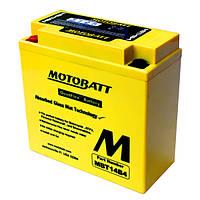 Аккумулятор для мотоцикла гелевый MOTOBATT  AGM 25Ah  300A  размер 205 x 87 x 176 мм с проставкой  MBTX24U