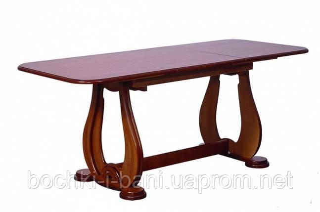 Стол кухонный раздвижной из массива дерева, фото 2