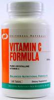Витамины и минералы Universal Vitamin C Formula 500 mg (100 tabs)