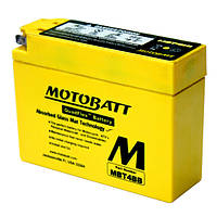 Аккумулятор для мотоцикла гелевый MOTOBATT  AGM 2,5 Ah 40 A  размер 113 x 38 x 87 мм MBT4BB
