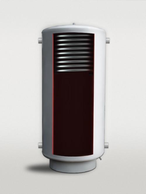 Теплоаккумулятор ТА-10- 240 с верхмим теплообменником с черной стали