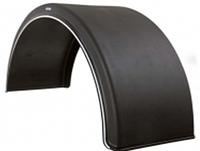 Крыло из пластика с белой каймой 550 (L-1700mm)