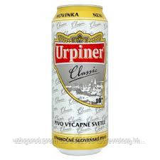 Пиво Urpiner classic ж/б  0,500 мл