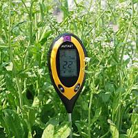 Анализатор почвы 4 в 1 AMTAST ( АМТ-300 ) Влагомер почвы / ph-метр / термометр / люксометр