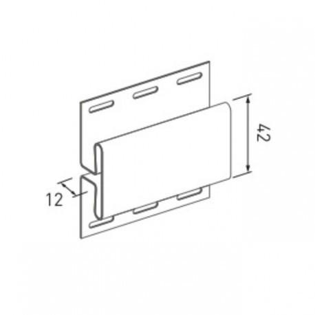 Планка соединительная VOX SYSTEM MAX-3 цвет ясень, дуб, бук (3,05м)