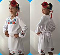 Детское платье-вышиванка мод.639 (р.122-140)