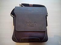 Мужская кожанная сумка Polo new model 2016, Опт