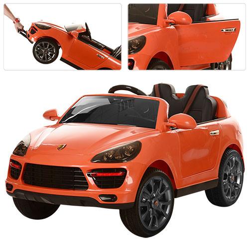 Детский электромобиль M 3191EBLR-7 оранжевый
