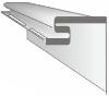 Планка-фаска VOX SYSTEM MAX-3 цвет белый (3,05 м)
