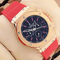 Мужские наручные часы Hublot Big Bang AA Red/Gold/Black