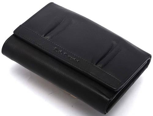 Женский кожаный кошелек Paola Tomasini  31690/10  черный