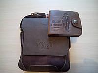 Комплект сумка Polo Оксфорд + кошелек Bailini Texas