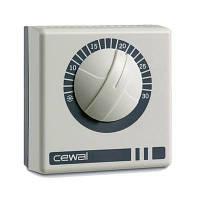 Механический комнатный термостат Cewal RQ 10