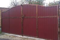 Ворота с калиткою всередине 6980