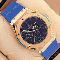 Мужские наручные часы Hublot Big Bang AA Blue/Gold/Black
