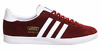 "Кроссовки Adidas Gazelle ""Red White"" - ""Красные Белые"" (Копия ААА+), фото 1"