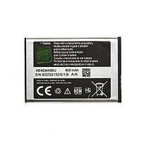 Оригинальный аккумулятор АКБ батарея Samsung  X200 / AB463446BU 800mAh
