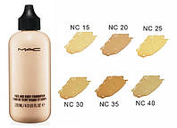 Тональная основа MAC Face and Body Foundation для лица и тела, в наличии только  № NC20 и № NC35