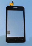 Оригинальный тачскрин / сенсор (сенсорное стекло) для Fly FS403 Cumulus 1 (черный цвет)