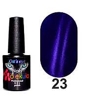 Гель-лак Nails Molekula Cat`s eye Кошачий глаз №23
