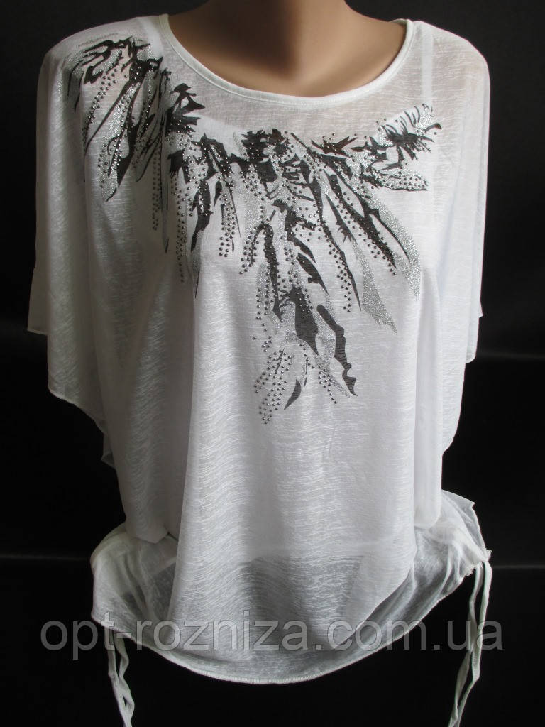 Красивые летние футболки из легкой ткани.