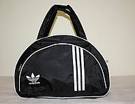 Спортивная сумка Adidas черная // SY-35-Черная