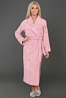 Бамбуковый халат Eke Home DOGA  S розовый