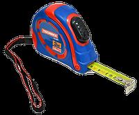 Рулетка 3м/16мм обрезиненный корпус, автофиксатор TECHNICS