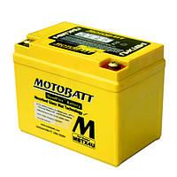 Аккумулятор для мотоцикла гелевый MOTOBATT  AGM 4,7Ah  70A  размер 114 x 70 x 87 мм  MBTX4U