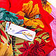 Нежный женский шарф из полиэстера 136 на 101 см ASHMA (АШМА) DS41-315-1 розовый, фото 3