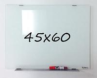 Дошка магнітно-маркерна скляна 45х60см, Tetris, фото 1