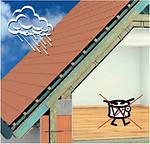 Как сделать, чтобы металлочерепица не шумела во время дождя?