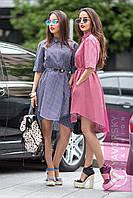 Сукня-рубашка Радміла сіра