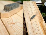 Браширование деревянных заготовок