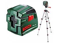 Лазерный уровень нивелир Bosch PCL 10 Set (0603008121)