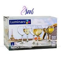 French Brasserie Набор бокалов для вина 210 мл - 6 шт Luminarc H9451