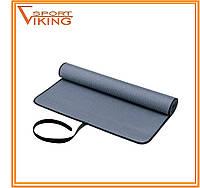 Коврик для йоги окантованный тканью (173 х 61 см х 6 мм)