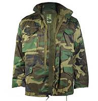 Куртка М65 с подкладкой (Woodland), фото 1