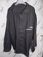 Куртка удлиненная рабочая сусилителями, с логотипом