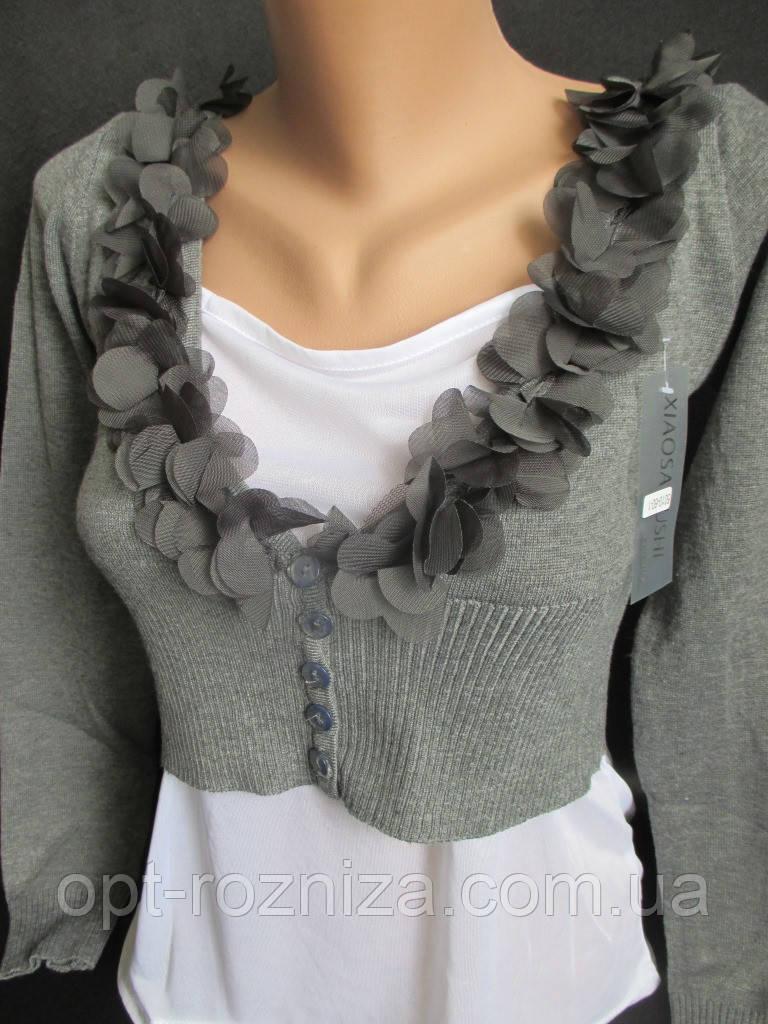 Болеро сірого кольору для дівчат.