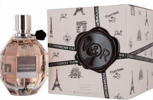 Женская оригинальная парфюмированая вода VICTOR & ROLF Flowerbomb de Paris 100ml  NNR ORGAP /0-011