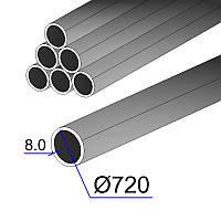 Труба 720х8  L= 1150мм