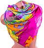 Воздушный женский шарф из полиэстера 137 на 100 см ASHMA (АШМА) DS41-317-1 разноцветный