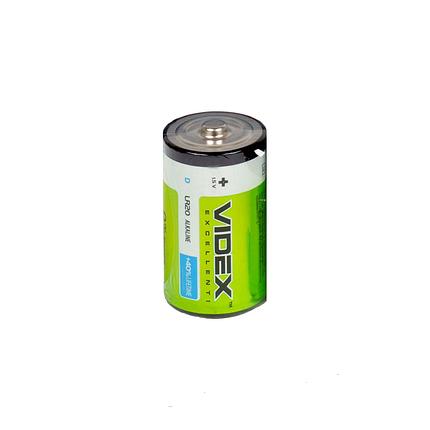 Батарейки  Videx Батарейка щелочная LR20 1.5V, фото 2