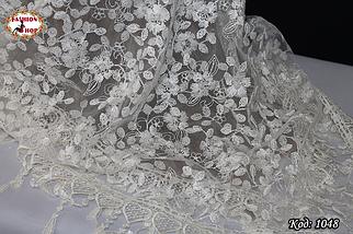 Свадебный платок с жемчугом Тамила, фото 2