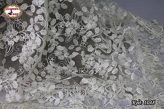 Свадебный платок с жемчугом Тамила, фото 3