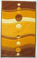 Комплект килимків для ванної кімнати на гумовій основі