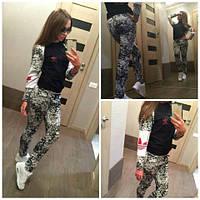 Спортивный женский костюм Adidas (двухнитка)